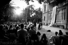 Medea di Euripide . performance, scenografia . Villa Mirafiori . Roma 2011