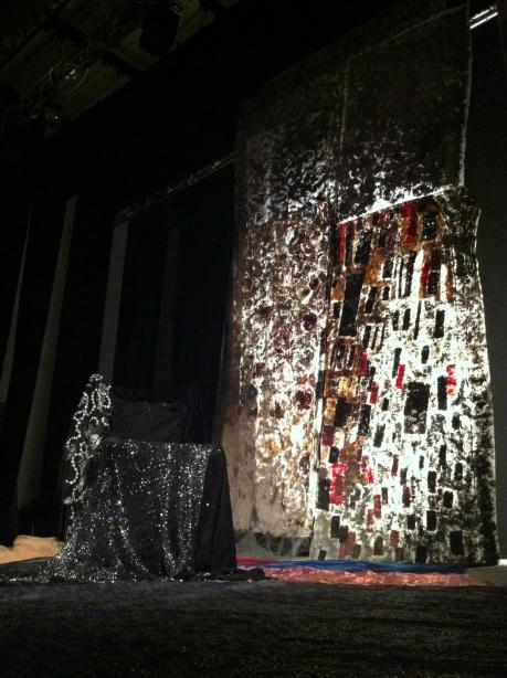 Voci di Desdemona . scenografia . Teatro Italia . Cosenza 2012