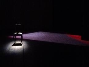 L'ultima madre . scenografia, video in scena . Teatro Vascello   Roma 2011