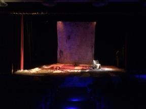 Voci di Desdemona . scenografia . Teatro Biblioteca Quarticciolo . Roma 2013