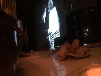 Silent (movie) Ghost . spettacolo multimediale . Teatro Ambra Garbatella . Roma 2014